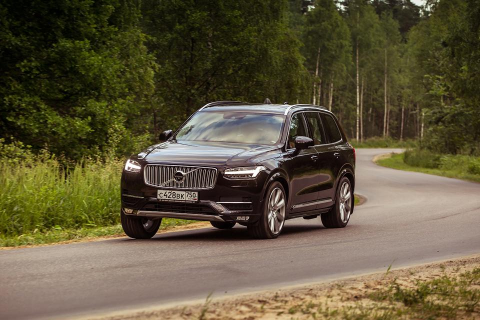 21-дюймовые колеса вроссийских ямах иматрешка вместо рычага «автомата»: тест Volvo XC90. Фото 15