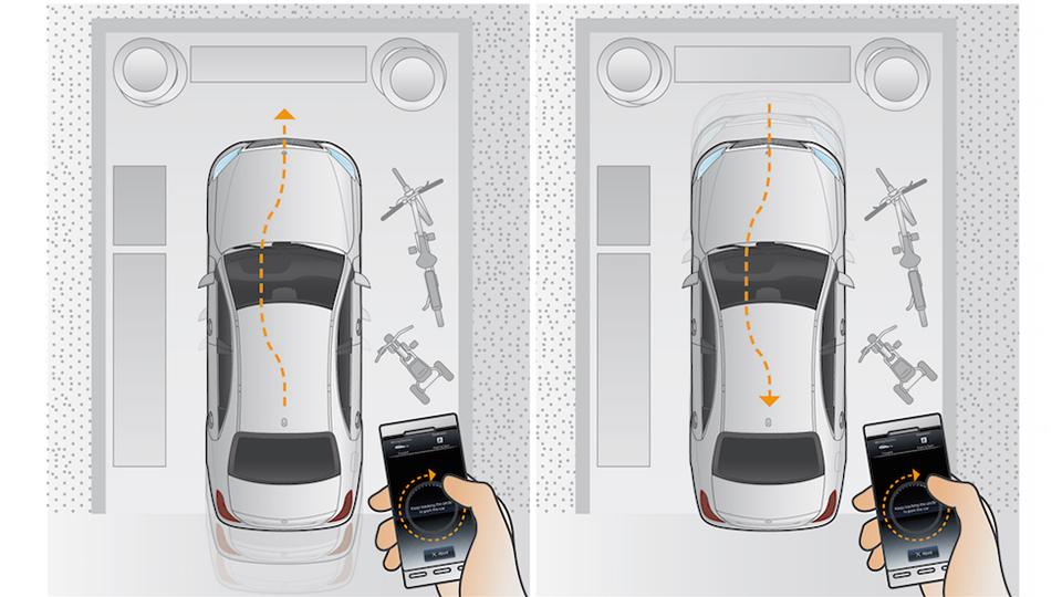 E-классом следующего поколения можно будет управлять с мобильного телефона