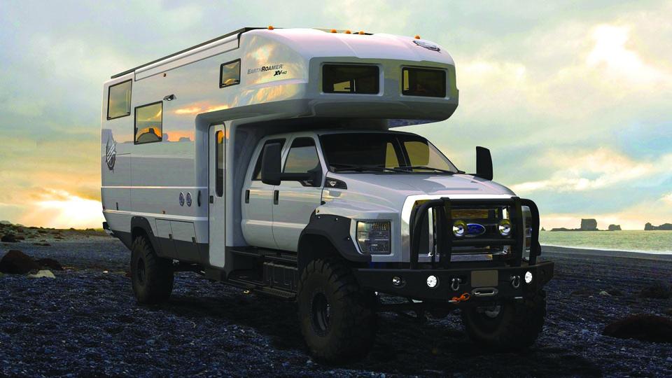 Пикап Ford превратили в дом на колесах за 925 тысяч долларов