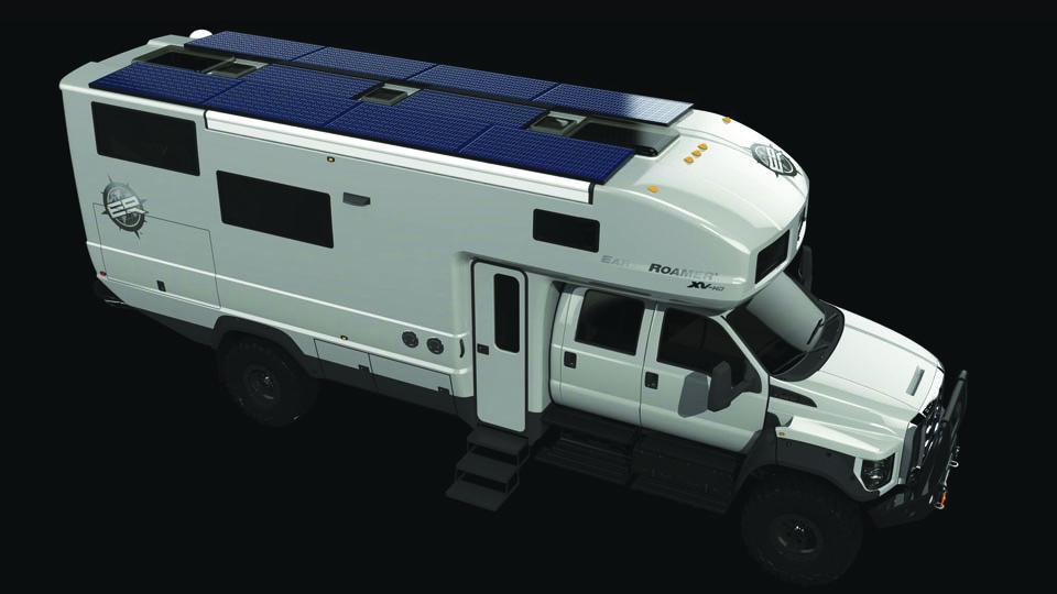 Компания EarthRoamer представила новый внедорожный фургон. Фото 1