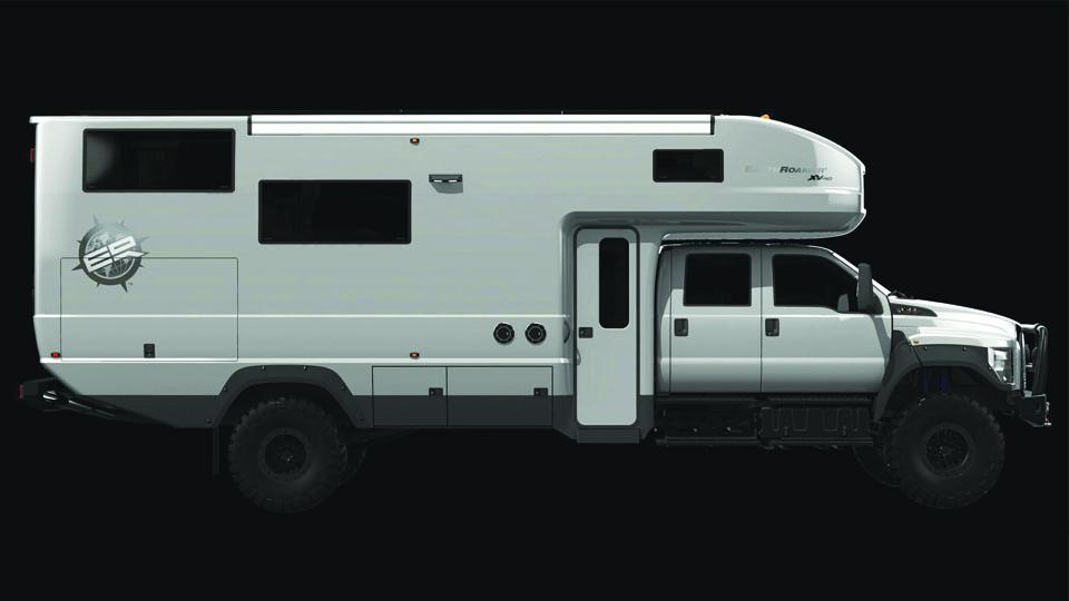 Компания EarthRoamer представила новый внедорожный фургон