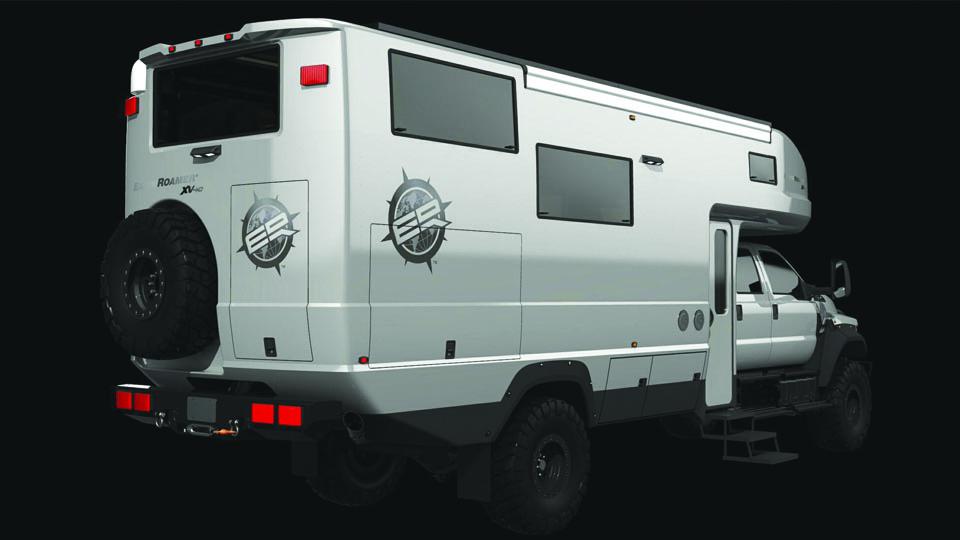 Компания EarthRoamer представила новый внедорожный фургон. Фото 2