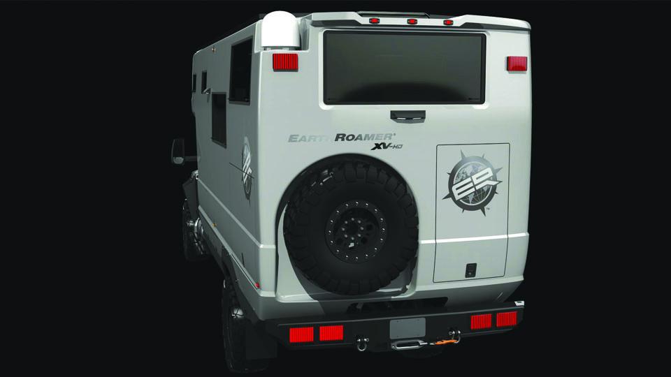 Компания EarthRoamer представила новый внедорожный фургон. Фото 3
