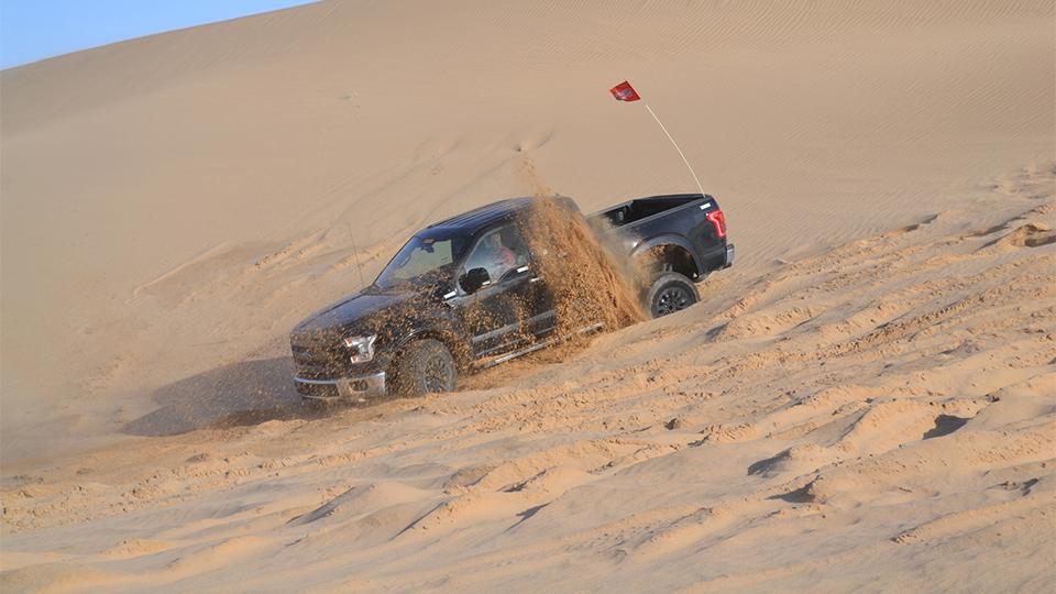 Новый «Раптор» проехал по пустыне 1644 километра