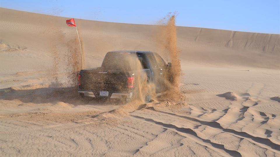Новый «Раптор» проехал по пустыне 1644 километра. Фото 1