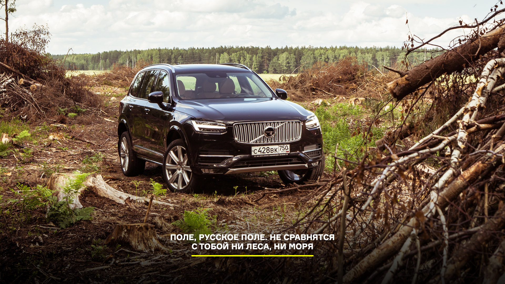 21-дюймовые колеса вроссийских ямах иматрешка вместо рычага «автомата»: тест Volvo XC90. Фото 16