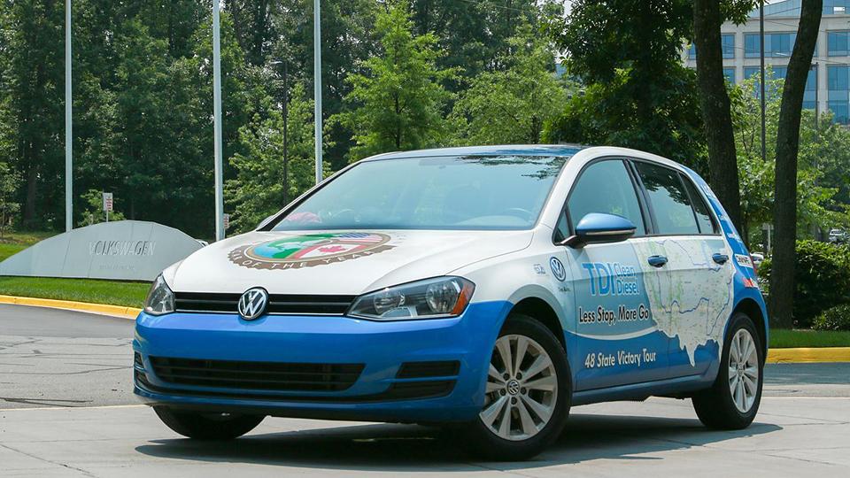 Дизельный VW Golf установил рекорд Гиннесса по экономичности
