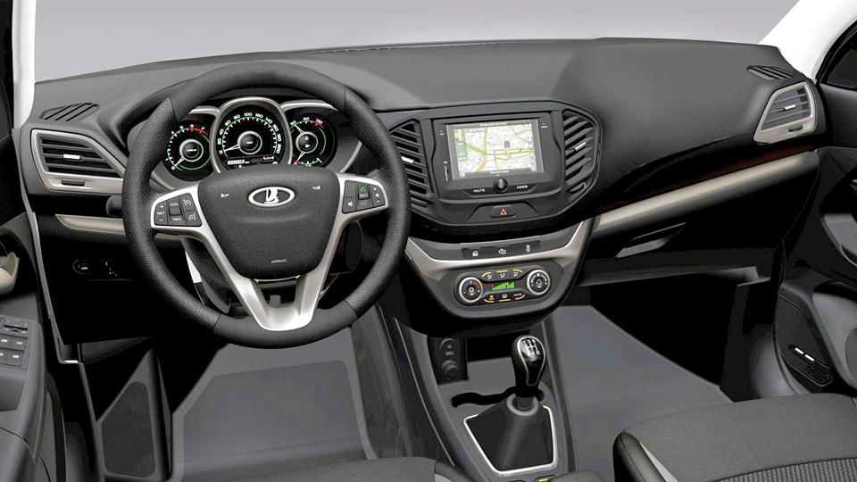 Рассекречен интерьер серийной Lada Vesta