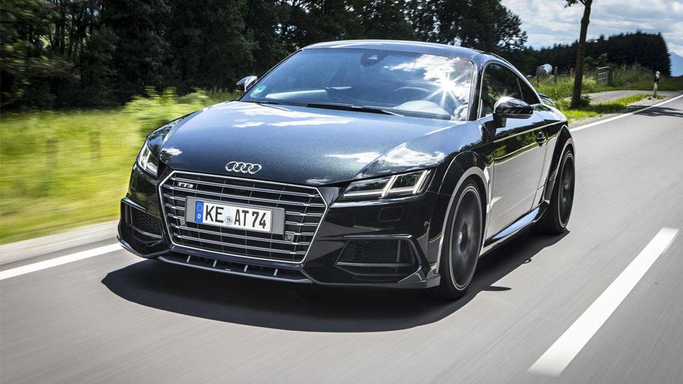 Ателье ABT добавило мощности купе Audi TTS