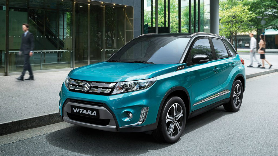 Компания Suzuki назвала рублевые цены на кроссовер Vitara