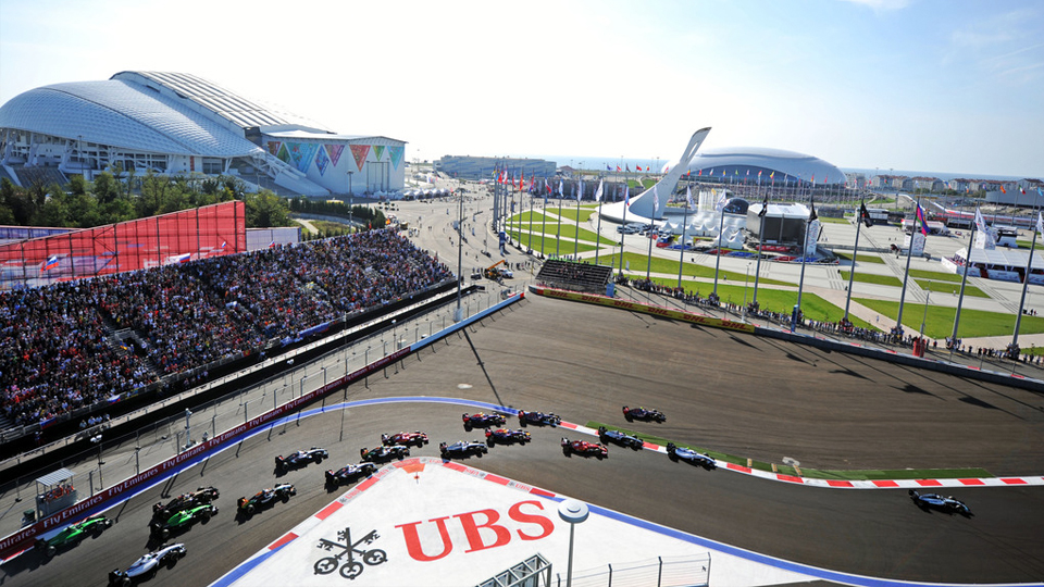 Гран-при России Формулы-1 перенесли с октября на май