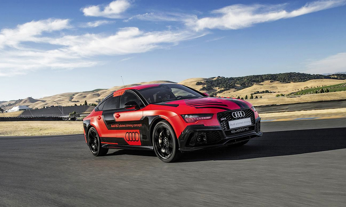 Audi сделала самый быстрый беспилотник в мире на 400 килограммов легче