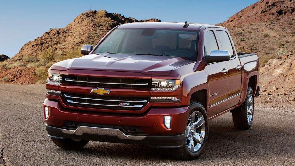 Компания Chevrolet обновила пикап Silverado