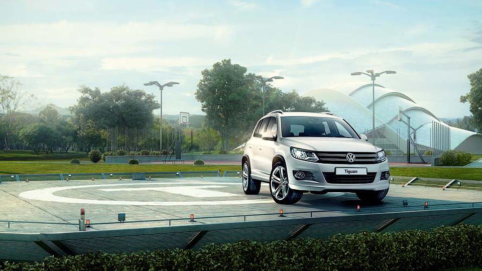 Volkswagen сделал для России «спортивный» Tiguan