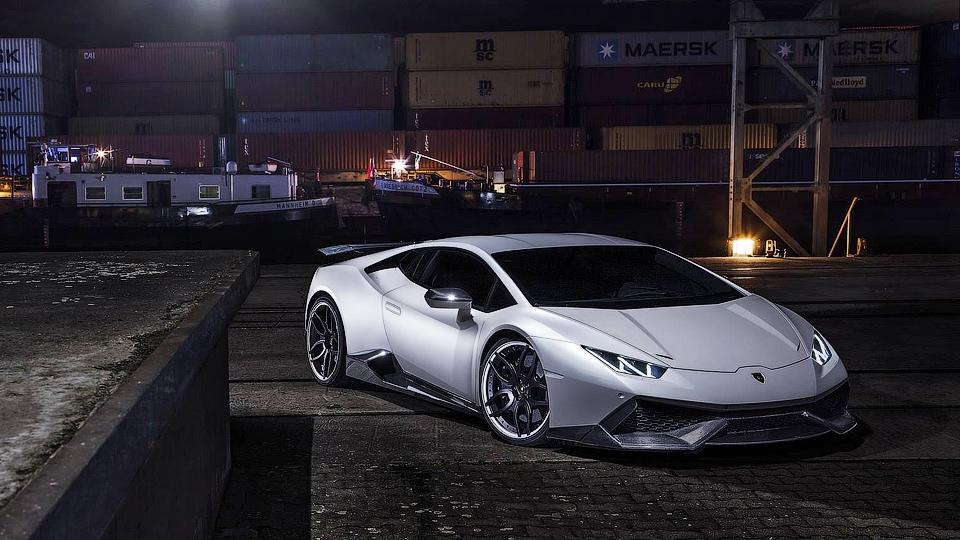Немецкие тюнеры доработали Lamborghini Huracan