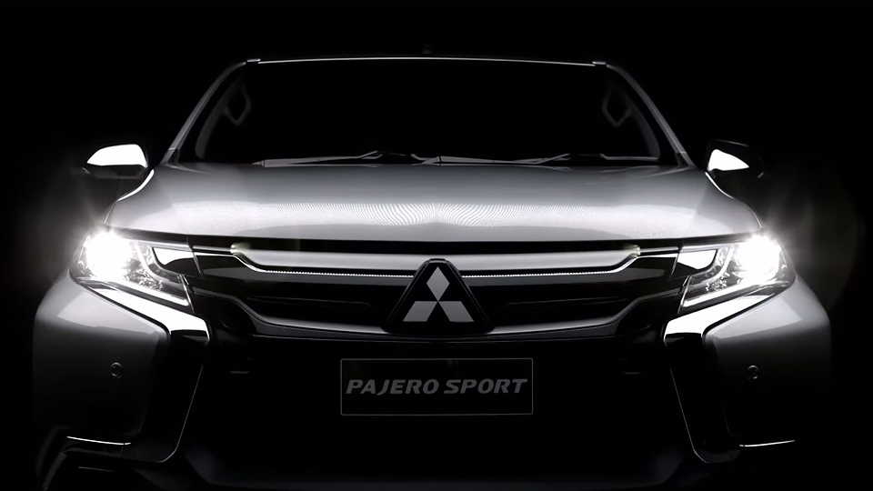 Дизайн нового Mitsubishi Pajero Sport показали в видеотизере