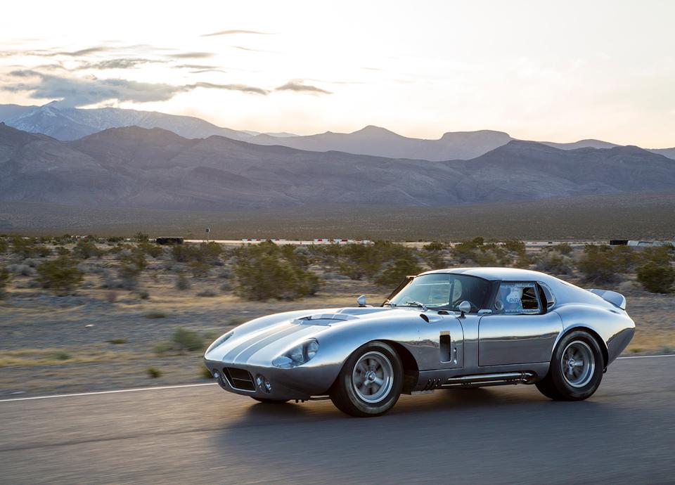 Компания подготовит 50 реплик купе Daytona Cobra