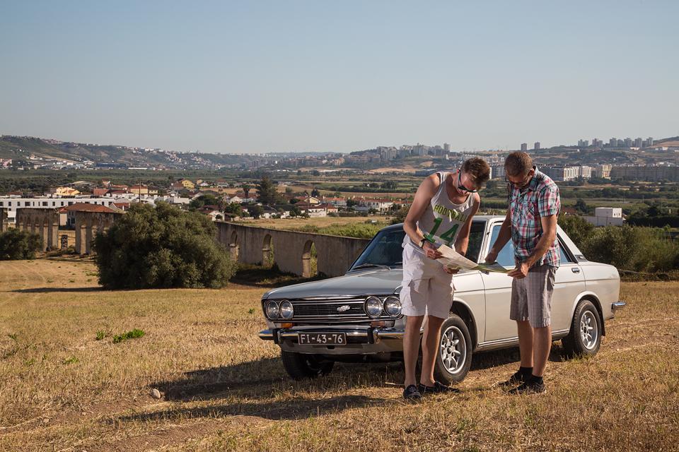 Как мы купили в Португалии старый Datsun и поехали на нем домой. Фото 9