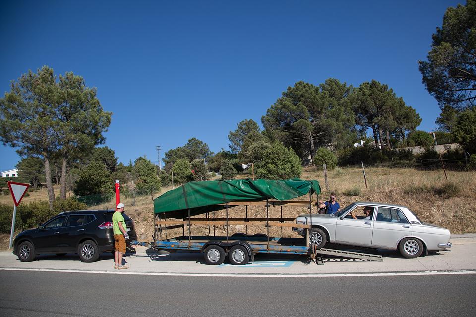 Как мы купили в Португалии старый Datsun и поехали на нем домой. Фото 19