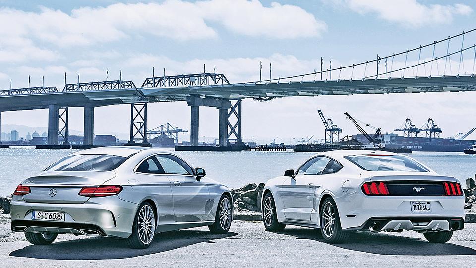 Журналисты раскрыли облик купе Mercedes-Benz C-Class