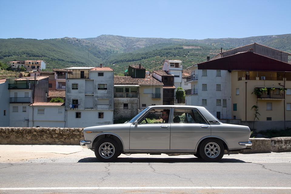 Как мы купили в Португалии старый Datsun и поехали на нем домой. Фото 3