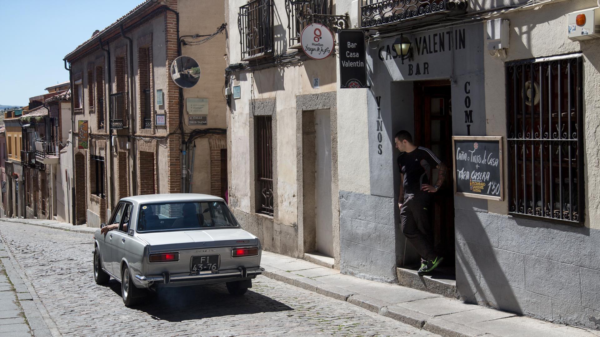 Как мы купили в Португалии старый Datsun и поехали на нем домой. Фото 7