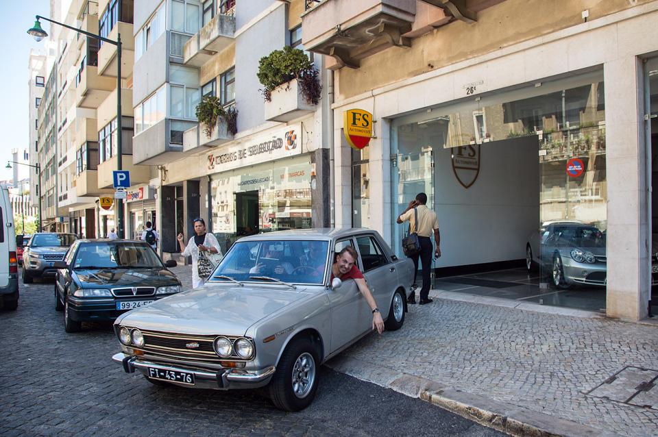Как мы купили в Португалии старый Datsun и поехали на нем домой. Фото 4