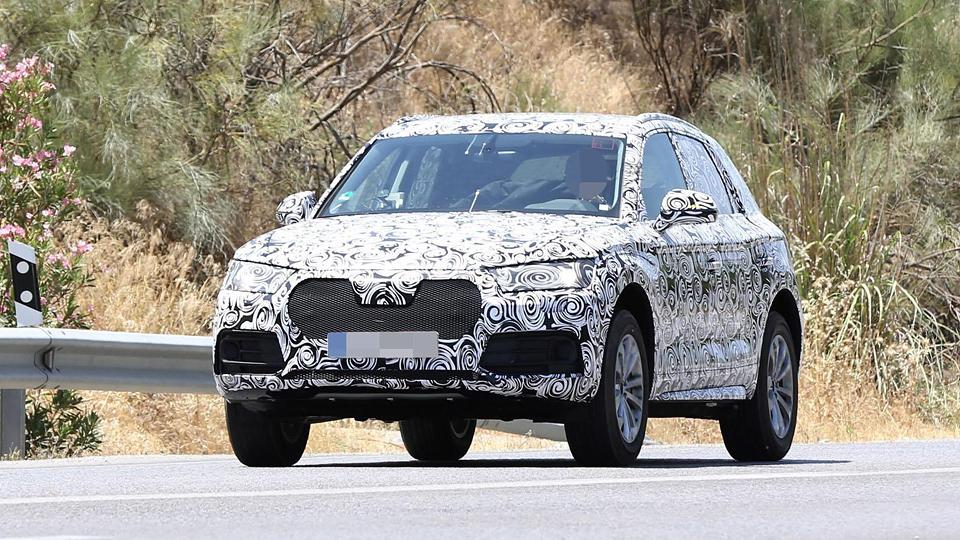 Audi Q5 нового поколения впервые замечен на тестах