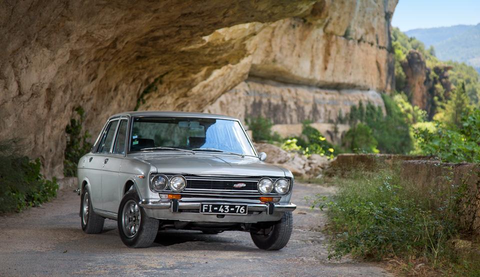 Как мы купили в Португалии старый Datsun и поехали на нем домой
