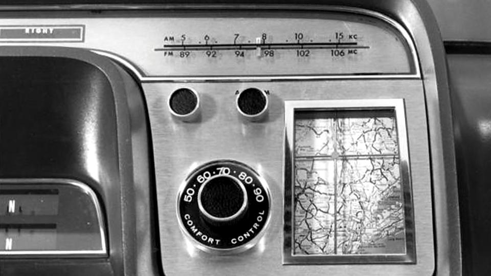 «Форд» показал автомобильную «навигацию» 1964 года