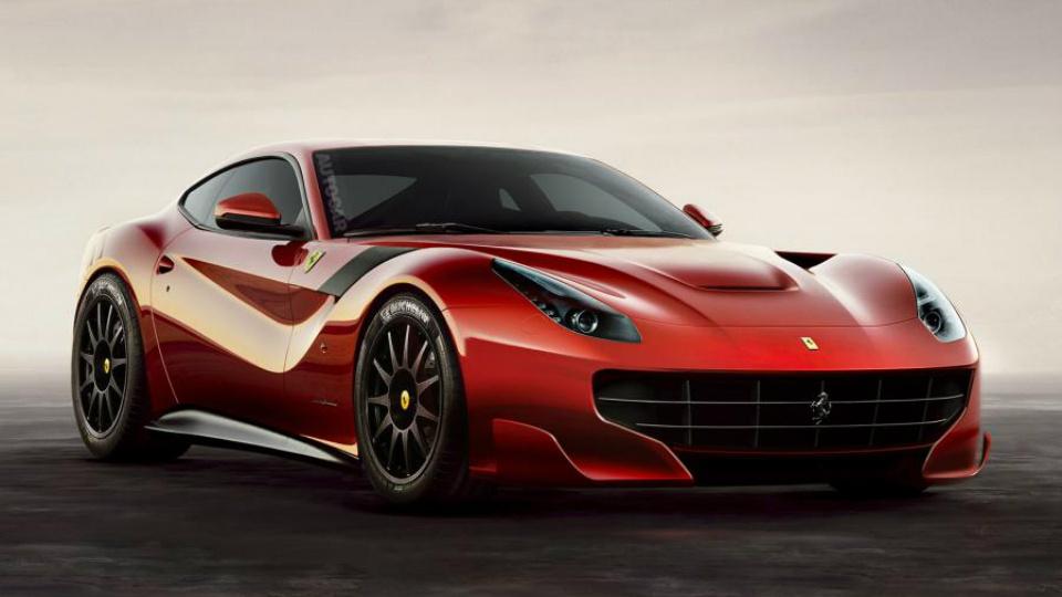 Британские СМИ узнали подробности о «заряженной» Ferrari F12berlinetta