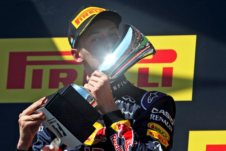 На Гран-при Венгрии Даниил Квят уступил только четырехкратному чемпиону мира. Фото 5