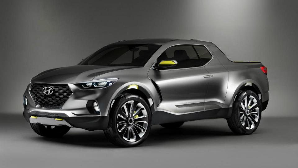 Hyundai даст «зеленый свет» серийному пикапу в ноябре
