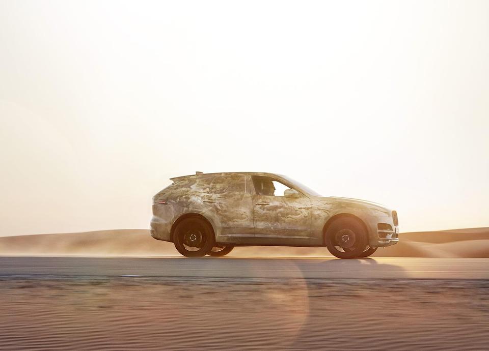 Вседорожник прошел тесты в северной Швеции и в пустыне в ОАЭ. Фото 1