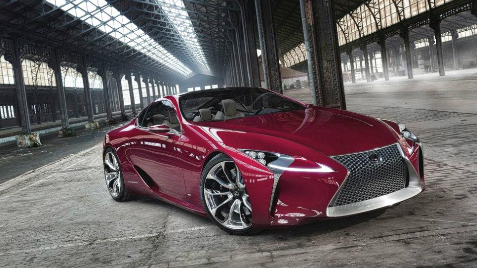 Появились шпионские снимки тестового прототипа купе Lexus LC. Фото 1