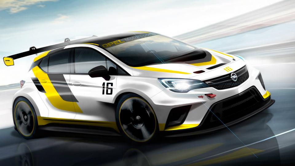 Opel подготовит новую «Астру» к гонкам
