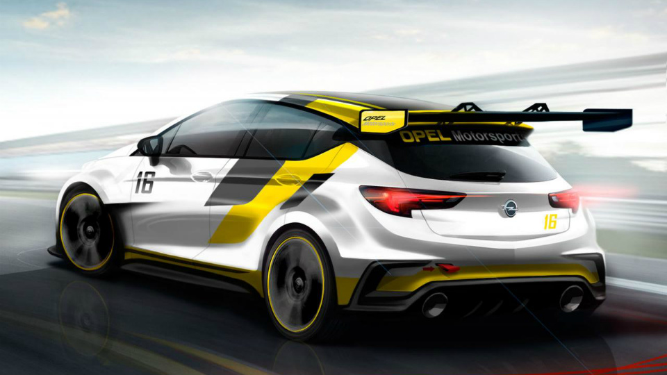 Opel Astra для чемпионата TCR дебютирует во Франкфурте