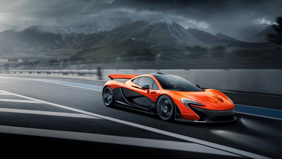 McLaren увеличил использование карбона в супергибриде P1