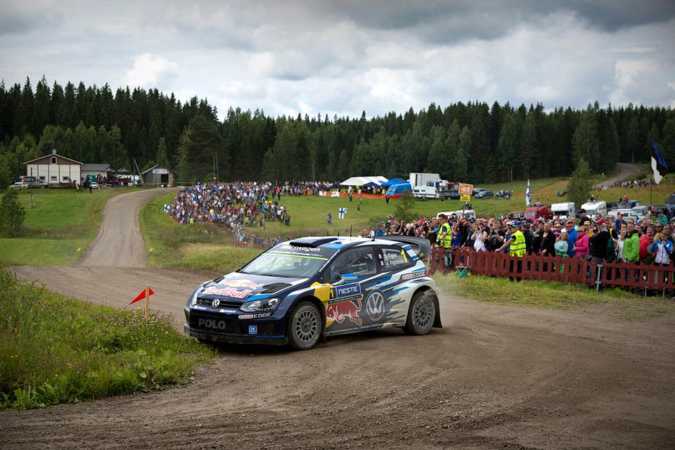 Яри-Матти Латвала выиграл домашний этап WRC