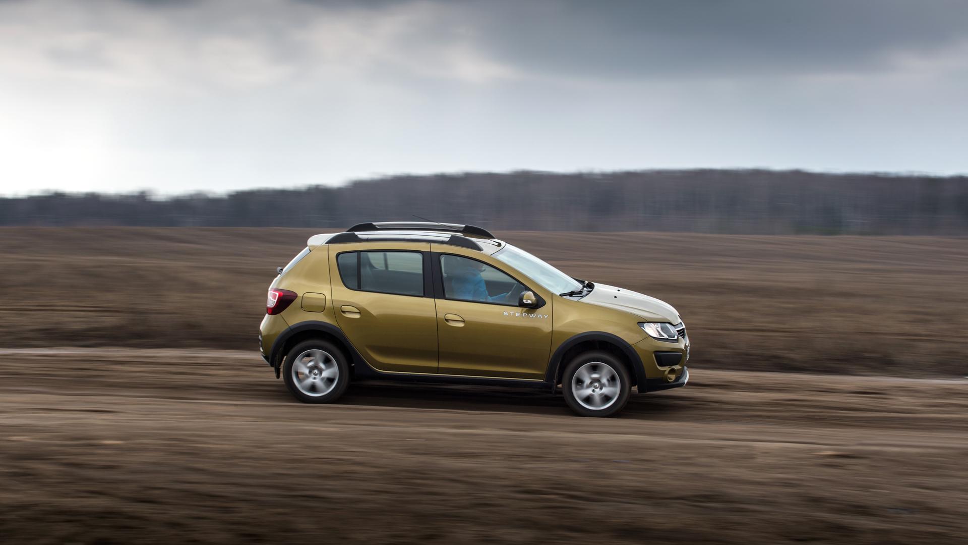 Улучшение слуха и вправление суставов – длительный тест Renault Sandero Stepway. Фото 4