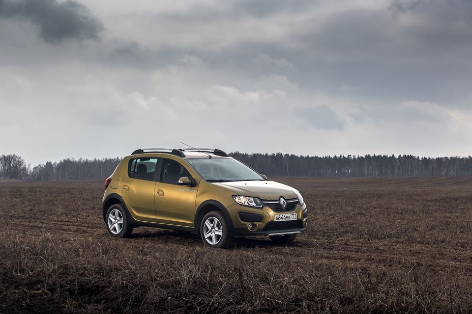 Улучшение слуха и вправление суставов – длительный тест Renault Sandero Stepway. Фото 6