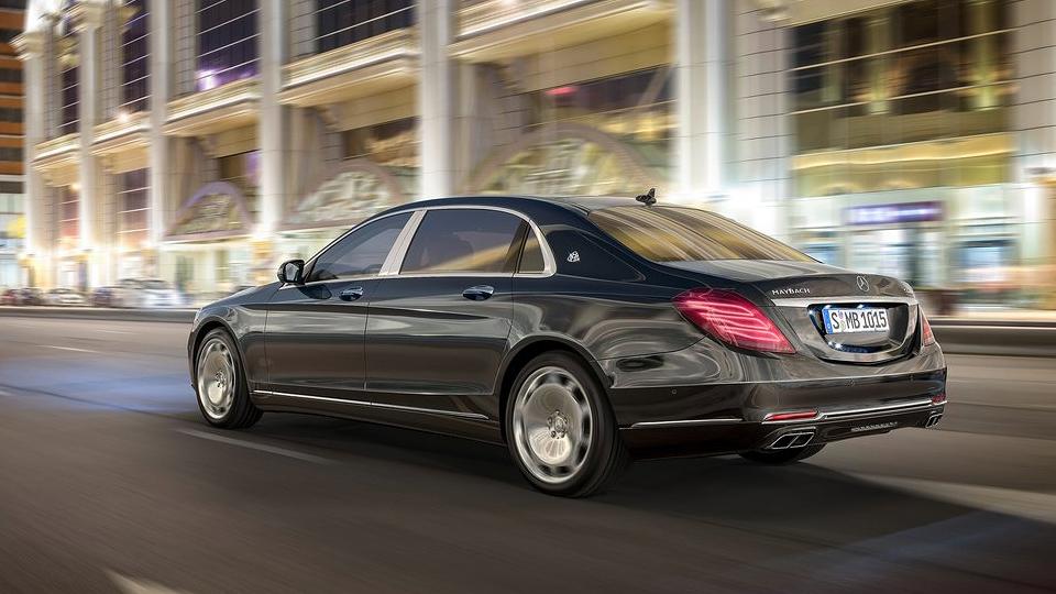 До России добрался «дешевый» Mercedes-Maybach