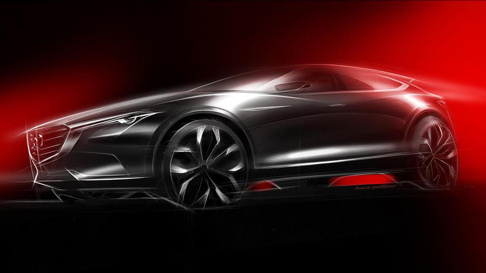 Mazda привезет во Франкфурт предвестника конкурента BMW X4