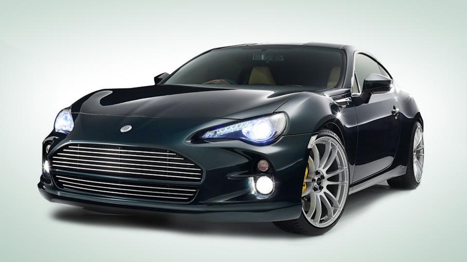 Японские тюнеры превратили Toyota GT86 в Aston Martin