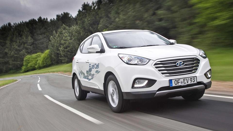 Водородный Hyundai ix35 установил мировой рекорд дальности поездки