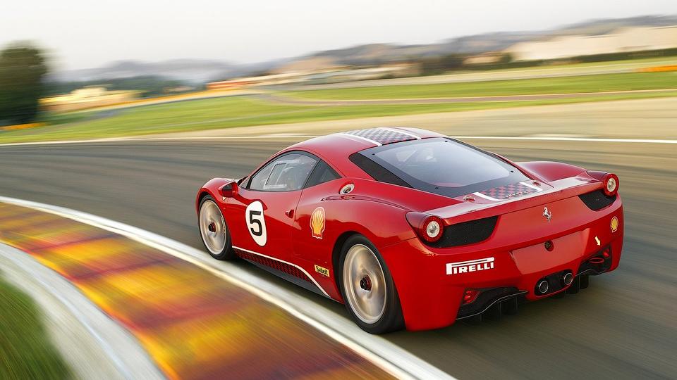 Суперкар подготовят для соревнований в категории GT3