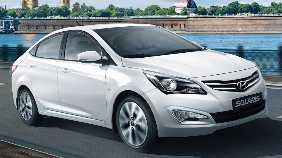 «Солярис» и «Рио» обошли «Гранту» в списке самых продаваемых машин