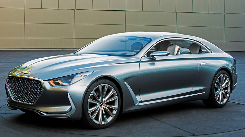 Компания Hyundai показала предвестника будущих премиум-моделей