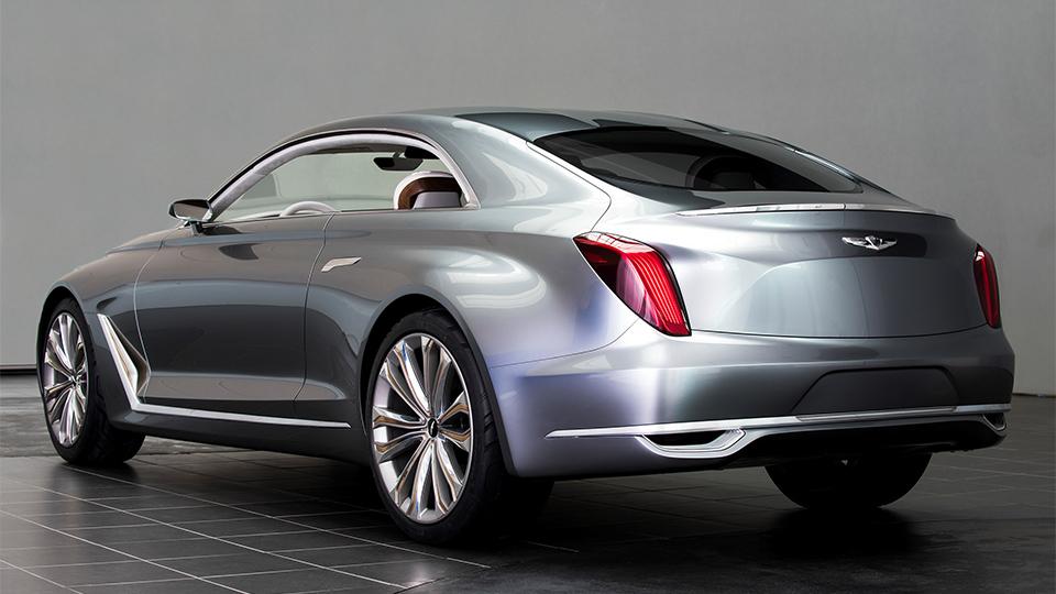 В Лос-Анджелесе рассекретили прототип Hyundai Vision G