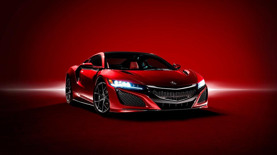 Суперкар Acura NSX станет гоночным